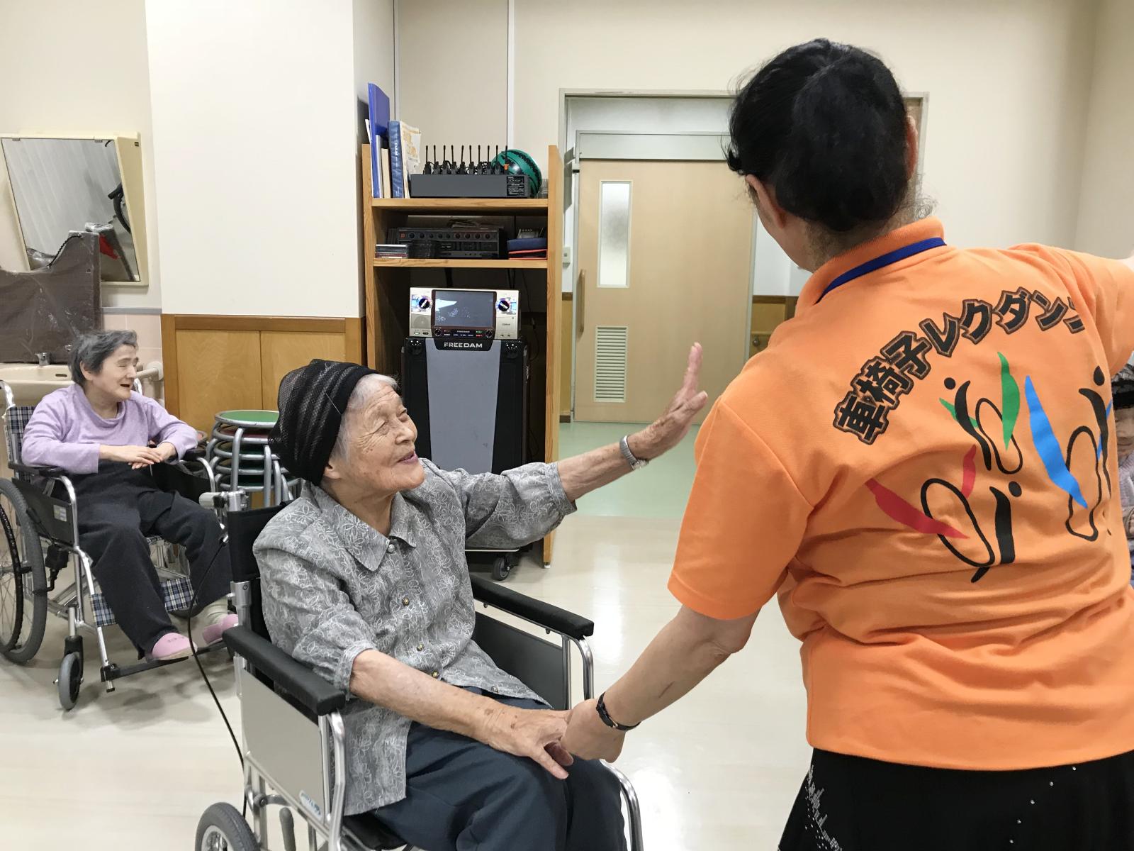 車椅子ダンス