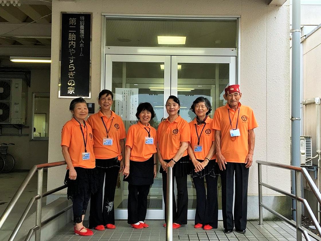 認定NPO法人 日本車椅子レクダンス協会 胎内支部の皆さんと