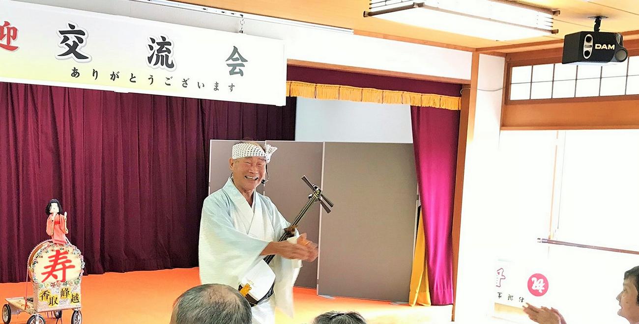 香取峰越さん交流会
