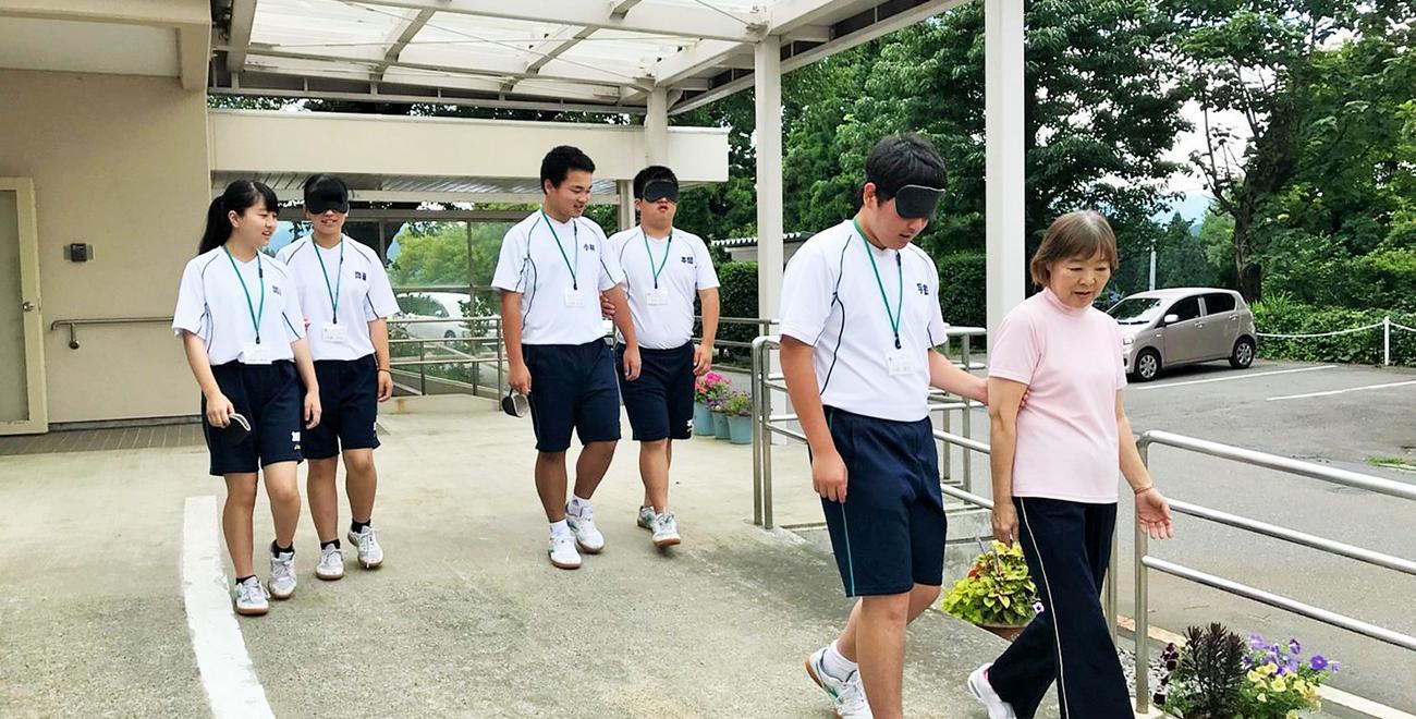中条高等学校移動支援学習